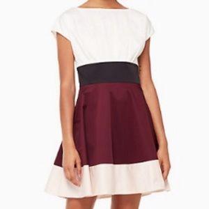 NWT Kate Spade Colorblock Fiorella Dress